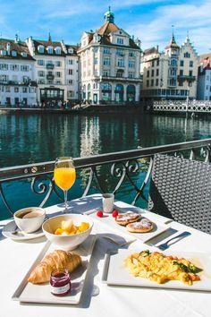 Hotel des Balances // Lucerne, Switzerland • The Overseas Escape