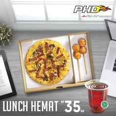 PHD Pizza Hut Promo Lunch Hemat  #Food #Kuliner #News #Promo