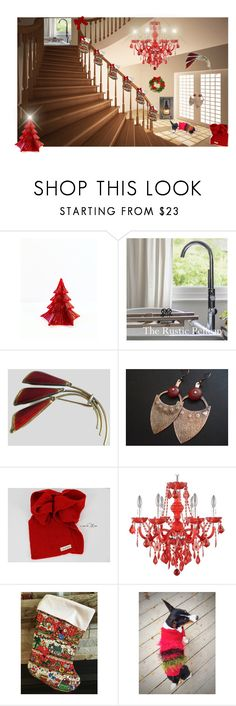 """""""Christmas Wishes"""" by cozeequilts ❤ liked on Polyvore featuring rustic"""
