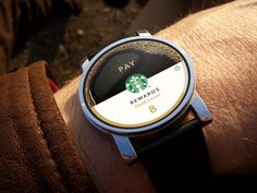 Android Wear: Starbucks / Stefan Poulos