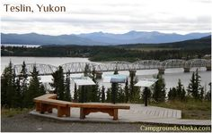 Teslin Yukon Territory on the Alaska Highway.