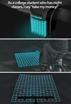 I bet my brother and dad, who are cyclists, would love this