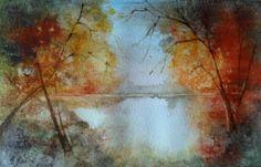 """Branka Božić, """"October"""" on ArtStack #branka-bozic #art"""