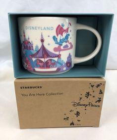 YAH Disney EPCOT Starbucks Mug Version 3 You Are Here NWT NIB