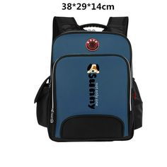 0117a416507 Primary school backpacks 1 - 3-6 backpack child students school bag  nobility relief children bag waterproof AXB06
