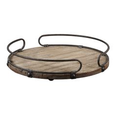 This wine tray is composed of a wonderful combination of fir and metal. The intriguing tray is designed by Matthew Williams.