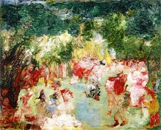 The Garden of Love (1891) Oil on canvas
