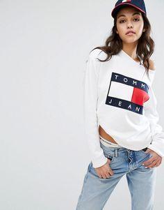 5485104c2a9 Tommy Jeans Logo Sweatshirt