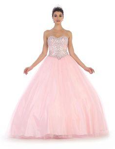 Quinceanera Long Dress Sweet 16 Ball Gown