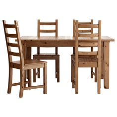 $485 STORNÄS/KAUSTBY Table and 4 chairs - antique stain - IKEA