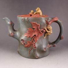 Chinese Yixing Zisha Clay Teapot Artist Signature