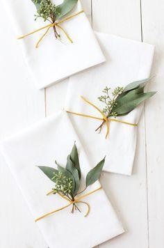 Eucalyptus Placesett