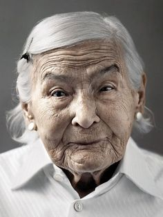100 years old, old lady, beauty, wrinckles, lines of life, wisdom, wise one, powerful face, intense eyes, portrait