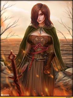 Emerald Herald,DSII персонажи,Dark Souls 2,Dark Souls,фэндомы,vempirick
