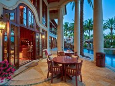 Mediterranean Style estate in Fort Lauderdale, FL w/17,000 sq ft of living space ~ *Love EVERYTHING about this home*