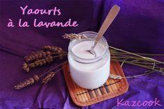 [Kaz] Ca faisait longtemps que j'avais envie de tester la lavande comestible, j'en avais mangé une fois en glace et cela m'avait beaucoup plu...    http://kazcook.com/blog/archives/397-Yaourts-a-la-Lavande.html