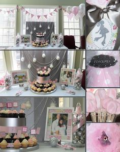 Beautiful Winter Baby Shower Pink Girls