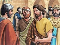 Now on the first day of the feast of Unleavened Bread, the disciples came to Jesus and said,  'Where do you want us to prepare for you to eat the Passover?' – Slide 1