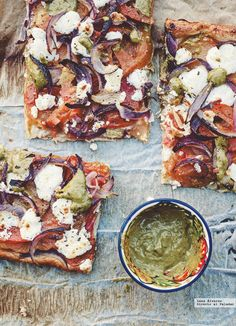 Tarta de tomate y queso de cabra. Receta