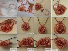 wire woven rose tutorial (https://www.facebook.com/media/set/?set=a.516654585038194.1073741830.366689886701332&)