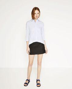 ZARA - WOMAN - 포플린 셔츠