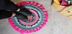 Kendin Yap: Pratik renkli paspas yapımı #dıy #geridönüşüm #kendinyap #nasılyapılır #evdekendinyapprojeleri #paspas