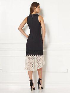 Eva Mendes Collection - Iara Lace-Flounce Sheath Dress - New York & Company