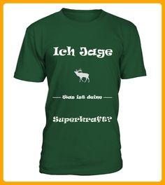 Jagen ist meine Superkraft - Camping shirts (*Partner-Link)