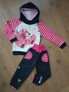 Dětský set mikina a softshellové kalhoty vel.110
