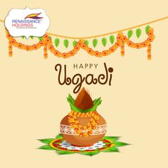 May this Ugadi bring you joy, health, wealth and good luck throughout the year!