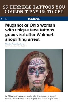 The following images display tattoos that had all the right makings for a disaster. Some of these will leave you wondering why to go through with this at all, while others will just have your eyes itching as if you just walked through the middle of a desert sandstorm.