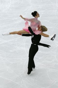 Meryl Davis and Charlie White training in Sochi 5-2-2014