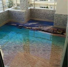 Need A New Look For Your Room These D Floor Murals Will Make Your - 3d acrylic floors