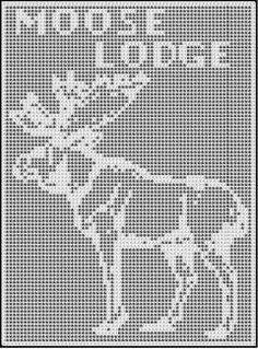 moose lodge crochet afghan pattern