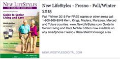 Welcome Ardent Hospice & Palliative Care of Fresno, Pacifica Senior Living Merced, Bristol Hospice, and LifeHOUSE Health Services to our updated guide to senior living and care options in the Fresno & Bakersfield area. www.NewLifeStyles.com/Fresno