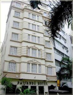 Paysandú Hotel na Rua Paissandu no Flamengo - Rio de Janeiro