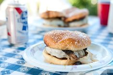 Venison Burgers with Mushrooms. The ultimate mushroom burger done with venison. The secret? Powdered wild mushrooms in the burger mix. Wild Duck Recipes, Deer Recipes, Burger Recipes, Fish Recipes, Smoked Meat Recipes, Smoker Recipes, Mushroom Recipes, Sausage Recipes, Recipies