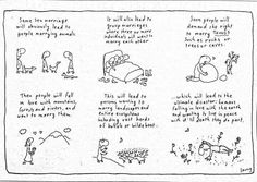 The beautiful Michael Leunig in response to Senator Bernardi's comments that marriage equality would lead to polygamy and beastiality. Marriage Age, Love The Earth, Tantra, Life Is Beautiful, Wise Words, Bullet Journal, Wisdom, Sayings, Relationships