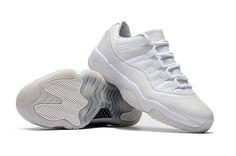"quality design 2f031 214e5 2017 Cheap Air Jordan 11 Low Heiress ""Frost White"" White-Pure Platinum"