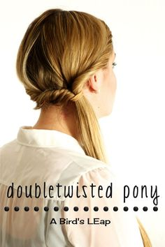 Doubletwisted Ponytail