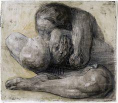 Woman with Dead Child, 1903 etching by Käthe Kollwitz