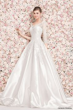 Couture Georges Hobeika Wedding Dresses Spring 2014 Collection. To see more: http://www.modwedding.com/2014/01/18/couture-georges-hobeika-wedding-dresses-spring-2014-collection/ #wedding #weddings #fashion