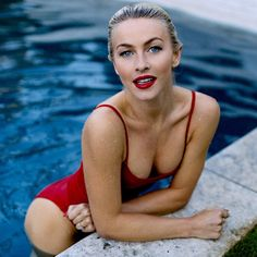 "445k Likes, 4,389 Comments - Julianne Hough (@juleshough) on Instagram: ""❤️❤️❤️ #fbf to a little impromptu photoshoot after I jumped in the pool with a full face of makeup…"""