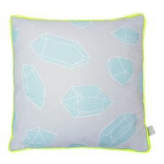 Next up, grey and mint with neon yellow piping. Yes please!