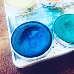 Lost in a sea of blues and greens while making samples for Modern Craft Night next Thursday!  Sign up through the link in our profile to get in on the creative action!