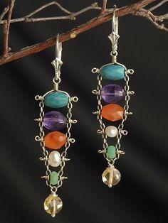 like the idea but new colors  #JewelryIdeas