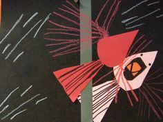 Charley Harper's cardinal reflection...how cute is that?  shine brite zamorano