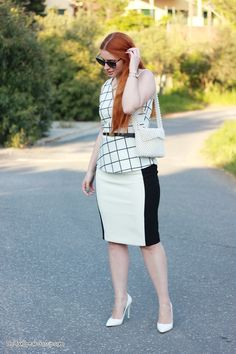 chic in black & white 3- outfit - DoYouSpeakGossip.com