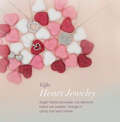 diamond heart jewelry...