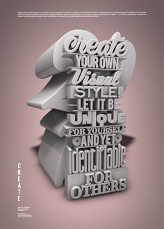 CREATE on Behance